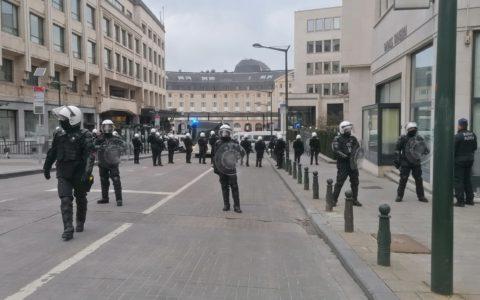 La police locale de Bruxelles