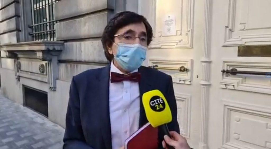 Elio Di Rupo ministre-président Wallonie interviewé Cité24 Alexander De Croo Premier Ministre Belgique covid mesures sanitaires coronavirus comité de concertation CNS sécurité