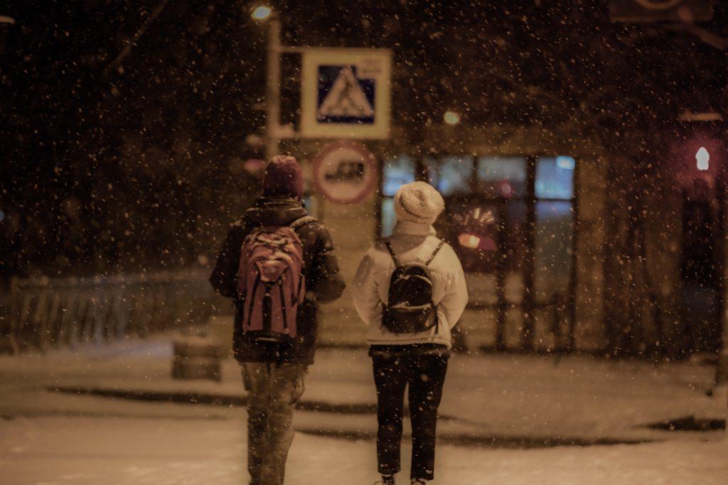 Chutes de neige à Bruxelles Belgique Météo Prévisions