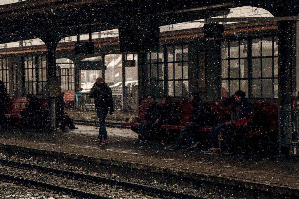 Chutes de neige: la circulation ferroviaire perturbée.