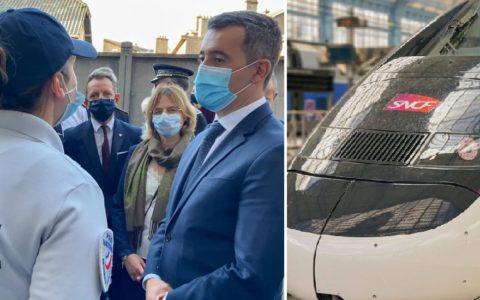 Gérard Darmanin a dit que les trains seront gratuits pour les policiers dans toute la France