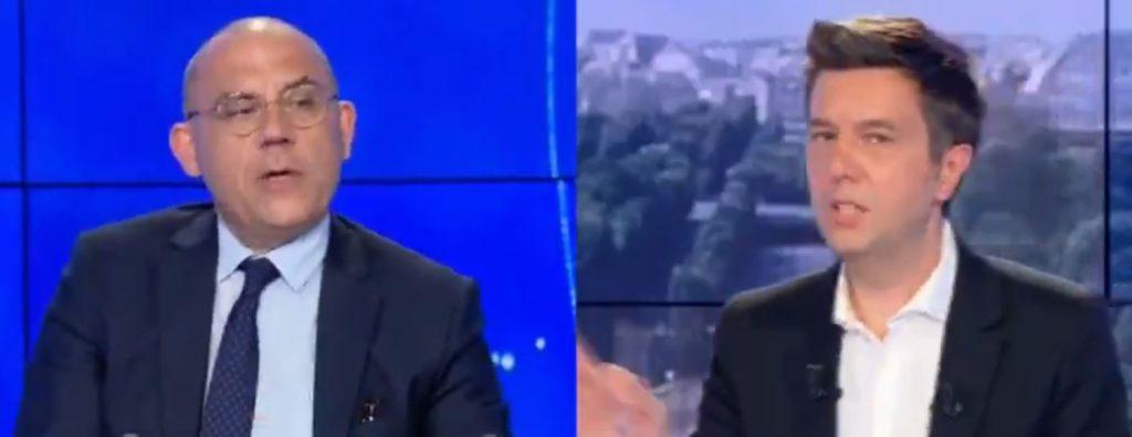 Bruno Questel BFM TV polémique fermeture écoles France mesures sanitaires covid