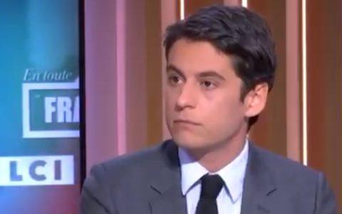 Gabriel Attal porte-parole gouvernement France Macron diner clandestin ministre covid mesures sanitaires