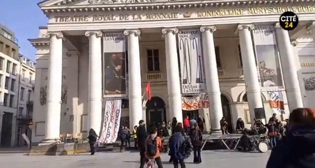 action théâtre de la monnaie bruxelles belgique gouvernement fédéral Alexander De Croo secteur culturel mesures sanitairs covid