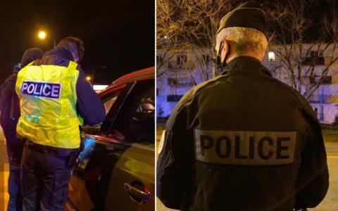 police nationale france contrôle attestation déplacement 10 km domicile Macron Darmanin