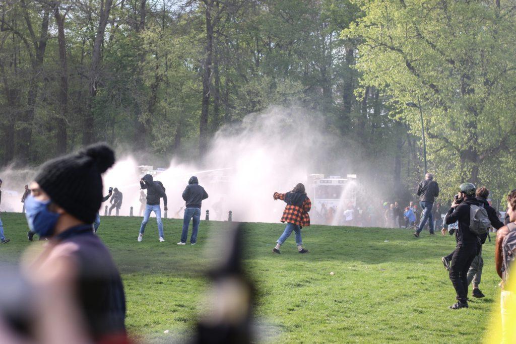 La Boum 2 au Bois de la Cambre, ce 1er mai