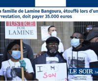 Lamine Bangoura et Le Soir : jamais 2 sans 3 !