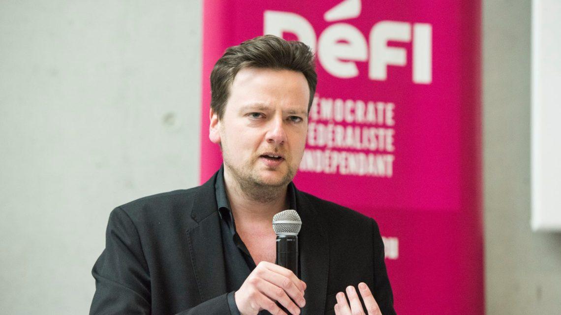 rançois De Smet, Président de Défi menace de quitter le gouvernement bruxellois