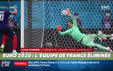 Euro 2021 : la France éliminée par la Suisse