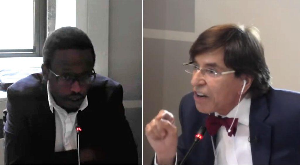 Vives tensions entre le PTB de Germain Mugemangango et Elio Di Rupo (PS), ministre-président.