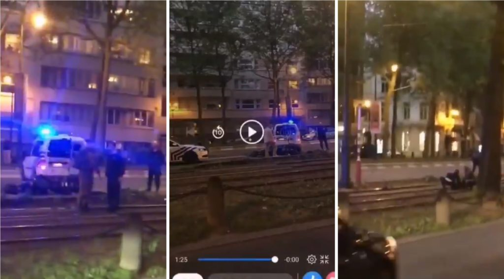 Vidéo Facebook du « parchocage » policier meurtrier dont ont été victimes Sabrina et Ouassim.