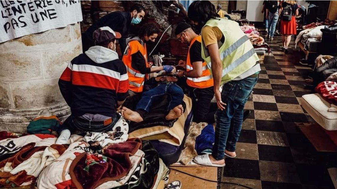 Sans-papiers en grève de la faim