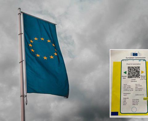 Certificat numérique européen Covid.