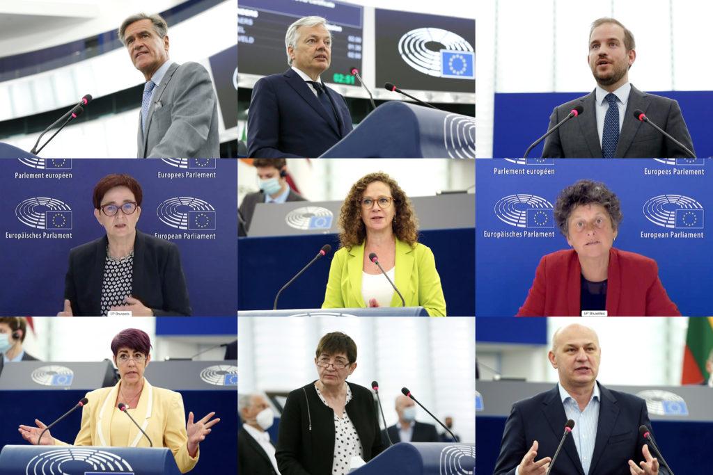 Débat au Parlement Européen sur le certificat numérique Covid.