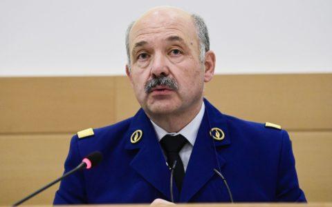 André Desenfants, numéro 2 de la police fédérale belge