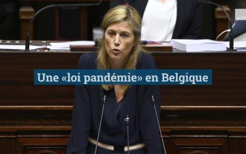 Annelies Verlinden, ministre belge de l'Intérieur défend la loi pandémie