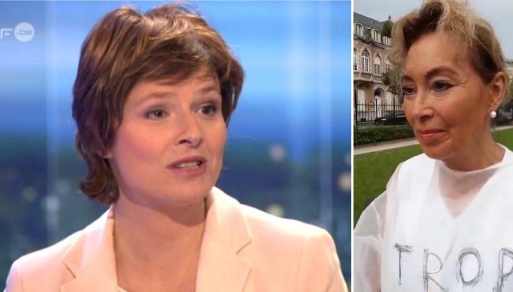 Johanne Montay, journaliste à la RTBF critique la position du Dr Cécile Andri dans un article publié le 27 août.