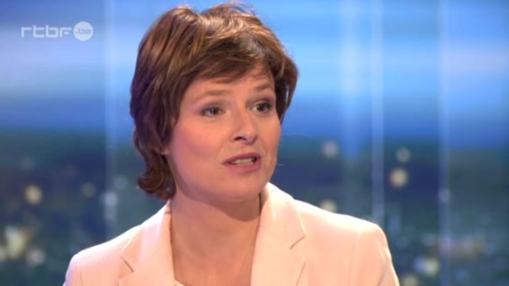 Johanne Montay, journaliste à la RTBF.