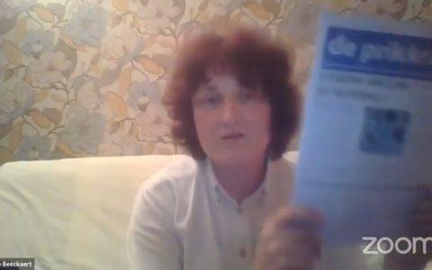 Docteur Gaëtanne Beeckaert en procès en appel ce 18 octobre pour ses positions sur le vaccin covid