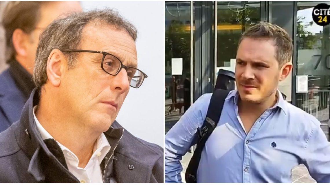 Olivier Maroy, député MR et Alexandre Penasse, journaliste pour Kairos.